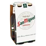 San Miguel Premium Lager Beer 4 x 330ml