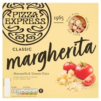 Pizza Express Classic Margherita Mozzarella & Tomato Pizza 245g