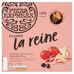 Pizza Express Classic La Reine Prosciutto Cotto Ham & Mushroom Pizza 290g