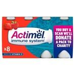 Actimel Strawberry Yogurt Drink 8 x 100g (800g)