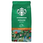 Starbucks House Blend Medium Roast Ground Coffee, Bag 200g