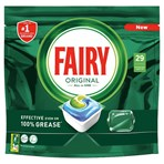 Fairy Original All In One Dishwasher Tablets, Regular, 29 Capsules
