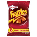 Smiths Frazzles Crispy Bacon Multipack Snacks 8x18g