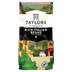 Taylors of Harrogate Rich Italian Beans Roast Coffee 227g