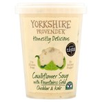 Yorkshire Provender Cauliflower Soup with Fountains Gold & Kale 600g