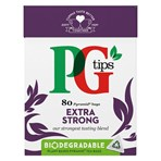 PG tips Extra Strong Tea Bags 80