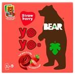 BEAR Yoyos Strawberry Multipack 5 x 20g