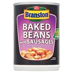 Branston Baked Beans with Sausages in a Rich and Tasty Tomato Sauce 405g