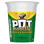 Pot Noodle Chicken & Mushroom for when you need filling up gr