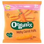 Organix Melty Carrot Puffs Organic Baby Finger Food Snack 20g