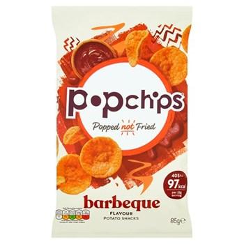 popchips Barbeque Sharing Crisps 85g