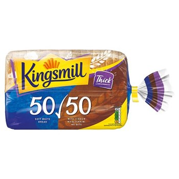 Kingsmill 50/50 Thick Bread 800g