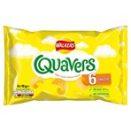 Walkers Quavers Cheese Multipack Snacks 6x16g