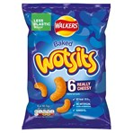 Walkers Wotsits Really Cheesy Multipack Snacks 6x16.5g
