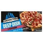 Chicago Town 2 Deep Dish Pepperoni Pizzas 2 x 160g (320g)