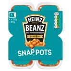 Heinz Baked Beanz Snap Pots 4 x 200g