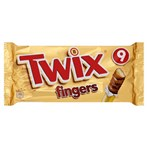 Twix Chocolate Biscuit Fingers Multipack 9 x 23g