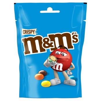 M&M's Crispy Chocolate Pouch Bag 107g