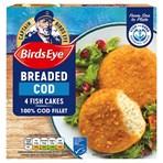Birds Eye 4 Breaded Cod Fish Cakes 198g