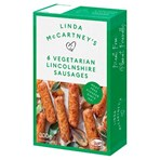 Linda McCartney's 6 Vegetarian Lincolnshire Sausages 300g