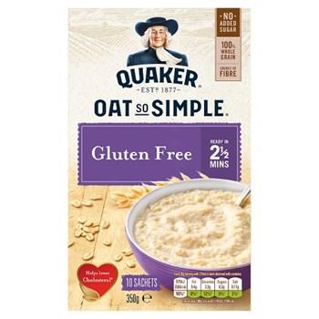 Quaker Oat So Simple Gluten Free Porridge Sachets 10x35g