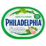 Philadelphia Garlic & Herbs Soft Cheese 170g