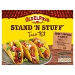 Old El Paso Stand 'N' Stuff Garlic & Paprika Taco Kit 312g