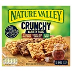 Nature Valley Crunchy Variety Pack Cereal Bars 5 x 42g (210g)