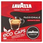 Lavazza A Modo Mio Eco Caps Compostable Passionale Coffee Capsules x 16