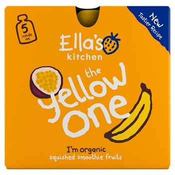 Ella's Kitchen The Yellow One Squished Smoothie Fruits 5 x 90g
