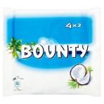 Bounty Coconut Milk Chocolate Duo Bars Multipack 4 x 57g