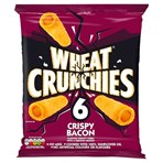 Wheat Crunchies Bacon Multipack Crisps 6 Pack