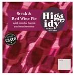 Higgidy Family Kitchen Steak & Red Wine Pie 250g