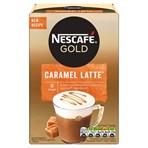 Nescafe Gold Caramel Latte Instant Coffee 8 x 17g Sachets