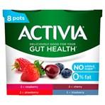 Activia Red Fruits No Added Sugar Gut Health Yogurt 8 x 115g (920g)