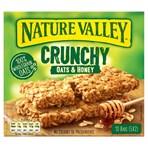 Nature Valley Crunchy Oats & Honey 5 x 42g (210g)