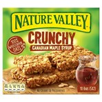 Nature Valley Crunchy Canadian Maple Syrup 5 x 42g (210g)