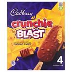 Cadbury Crunchie Blast Ice Cream 4 x 100ml