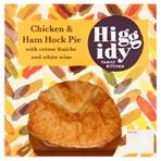 Higgidy Family Kitchen Free Range Chicken & Ham Hock Pie 250g