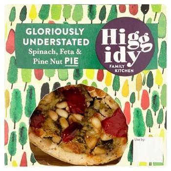 Higgidy Family Kitchen Veggie Spinach & Pine Nut Pie 270g