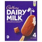 Cadbury Dairy Milk Ice Cream 4 x 100ml