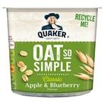 Quaker Oat So Simple Apple & Blueberry Porridge Pot 57g