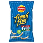 Walkers French Fries Variety Multipack Snacks 6x18g
