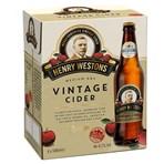 Henry Westons Medium Dry Vintage Cider 6 x 500ml