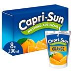 Capri-Sun Orange 8 x 200ml