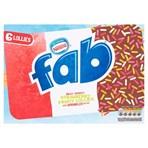 Fab Strawberry Ice Lollies 6x58ml