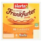 HERTA Classics Frankfurter Hot Dogs 10 Pack 350g