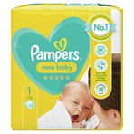 Pampers New Baby Size 1, 22 Nappies, 2kg-5kg, Carry Pack