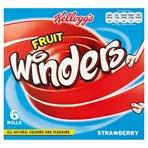Kellogg's Fruit Winders Strawberry 17g (Pack of 5)