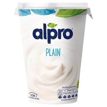 Alpro Plain Yoghurt Alternative 500g